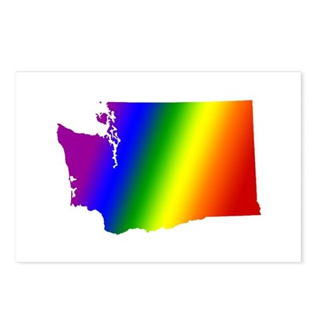 Washington Gay Pride Postcards (Package of 8)