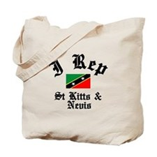 I rep St Kitts Tote Bag