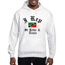 I rep St Kitts Hoodie
