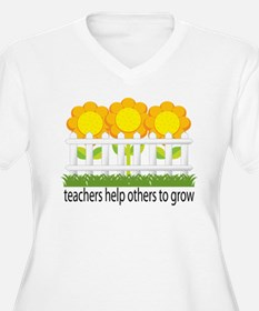 Flower Garden Teacher T-Shirt