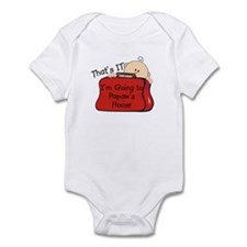 Going to Papaw's Funny Infant Bodysuit