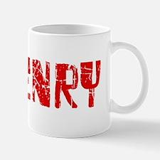 McHenry Faded (Red) Mug