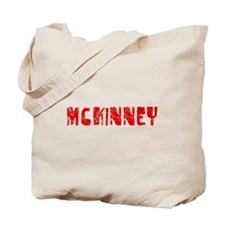 McKinney Faded (Red) Tote Bag