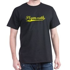 Vintage Plymouth (Gold) T-Shirt