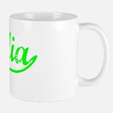 Vintage Visalia (Green) Mug