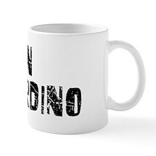 San Bernardino Faded (Black) Mug