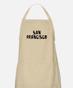 San Francisco Faded (Black) BBQ Apron