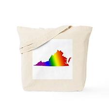 Virginia Gay Pride Tote Bag