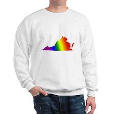 Virginia Gay Pride Sweatshirt