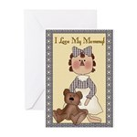 I love My Mommy Greeting Cards (Pk of 20)