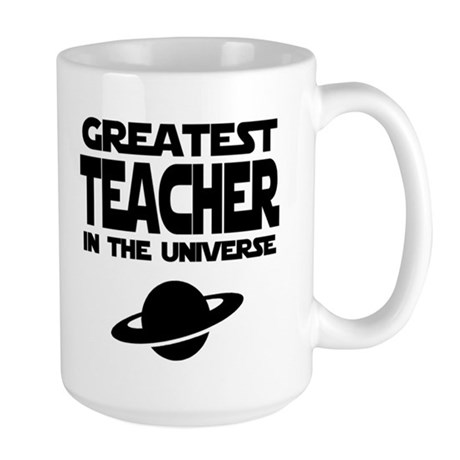 Greatest Teacher Large Mug