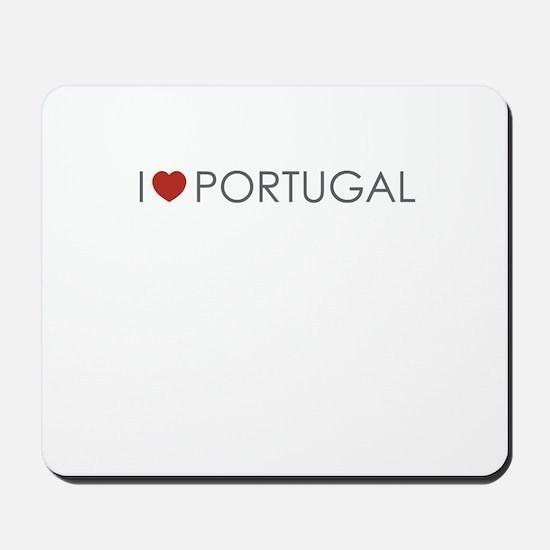 I <3 Portugal Mousepad