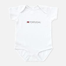 I <3 Portugal Infant Bodysuit