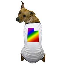 Utah Gay Pride Dog T-Shirt
