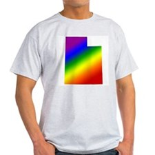 Utah Gay Pride Ash Grey T-Shirt