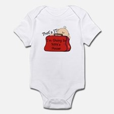 Going to YaYa's Funny Infant Bodysuit