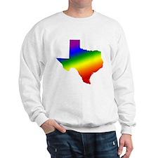 Texas Gay Pride Sweatshirt