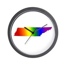 Tennessee Gay Pride Wall Clock