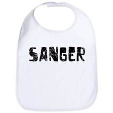 Sanger Faded (Black) Bib