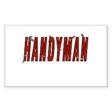 HANDYMAN Rectangle Decal