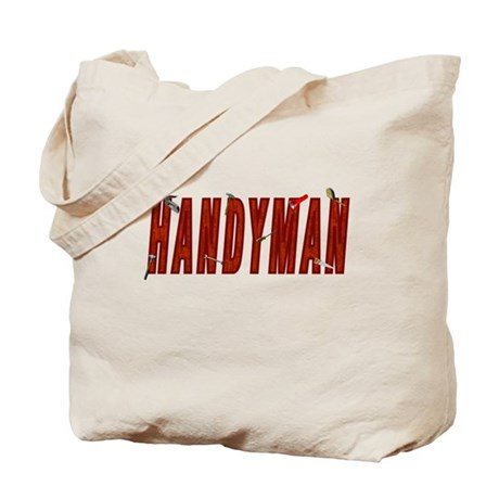 HANDYMAN Tote Bag