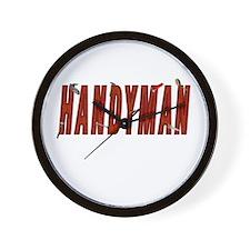 HANDYMAN Wall Clock