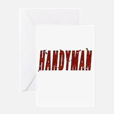 HANDYMAN Greeting Card