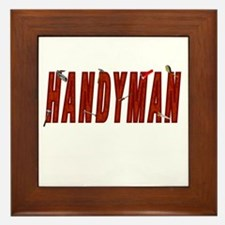HANDYMAN Framed Tile