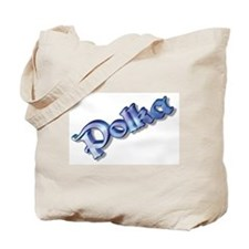 Polka Tote Bag