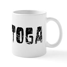 Saratoga Faded (Black) Mug