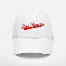 Retro Las Vegas (Red) Baseball Baseball Cap