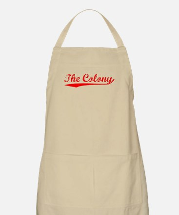 Vintage The Colony (Red) BBQ Apron