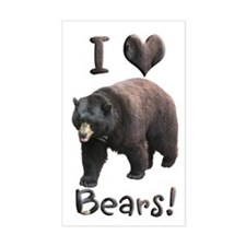 Helaine's American Black Bear Decal
