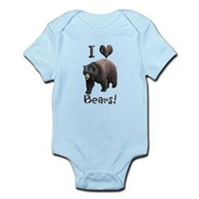 Helaine's American Black Bear Infant Bodysuit