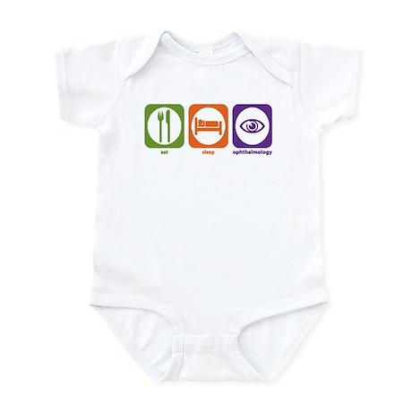 Eat Sleep Ophthalmology Infant Bodysuit