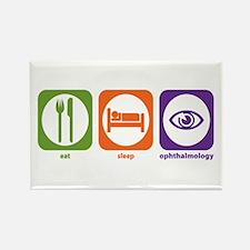 Eat Sleep Ophthalmology Rectangle Magnet