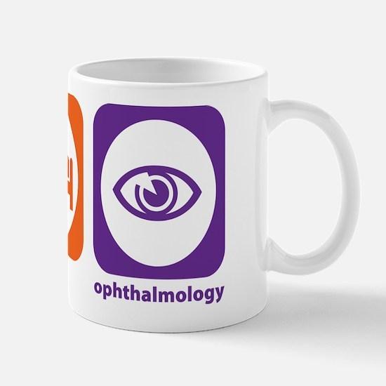 Eat Sleep Ophthalmology Mug