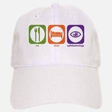 Eat Sleep Ophthalmology Baseball Baseball Cap