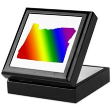 Oregon Gay Pride Keepsake Box