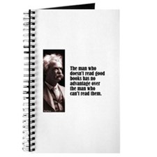 "Twain ""Doesn't Read"" Journal"