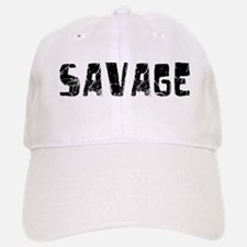 Savage Faded (Black) Baseball Baseball Cap