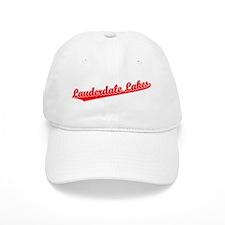 Retro Lauderdale L.. (Red) Baseball Cap