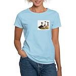 Crested Ducks Trio Women's Light T-Shirt