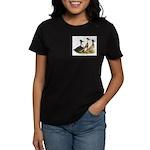 Crested Ducks Trio Women's Dark T-Shirt