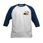 Crested Ducks Trio Kids Baseball Jersey