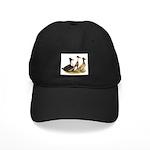 Crested Ducks Trio Black Cap