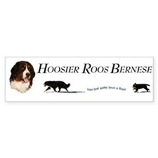 Hoosier Roos Bumper Bumper Sticker