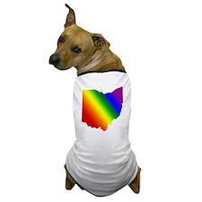 Ohio Gay Pride Dog T-Shirt