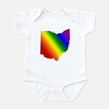 Ohio Gay Pride Infant Creeper