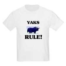 Yaks Rule! T-Shirt